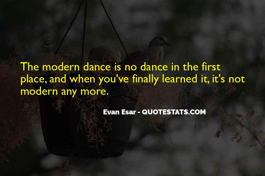 Quotes About The First Dance #237994
