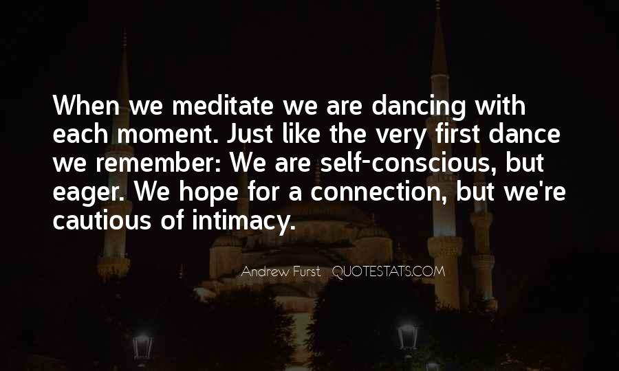 Quotes About The First Dance #711887