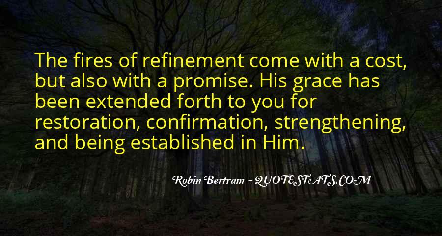 Quotes About Gods Restoration #1032732