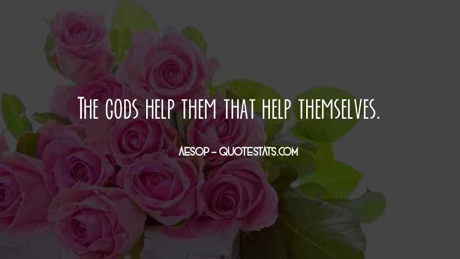 Quotes About Gods Help #1171792