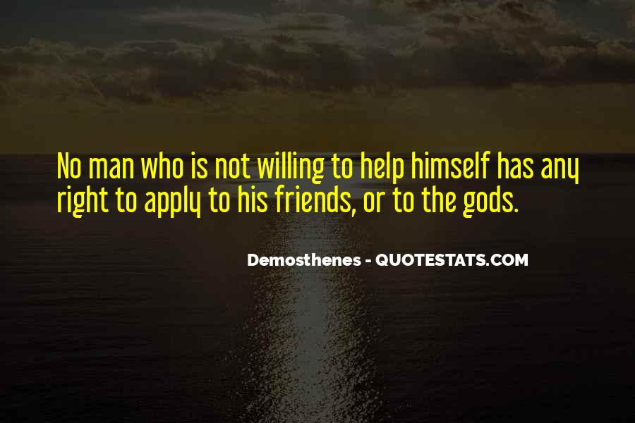 Quotes About Gods Help #1769693