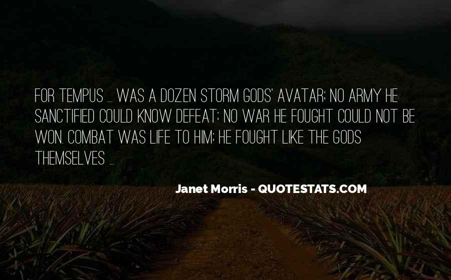 Quotes About Gods Army #264097