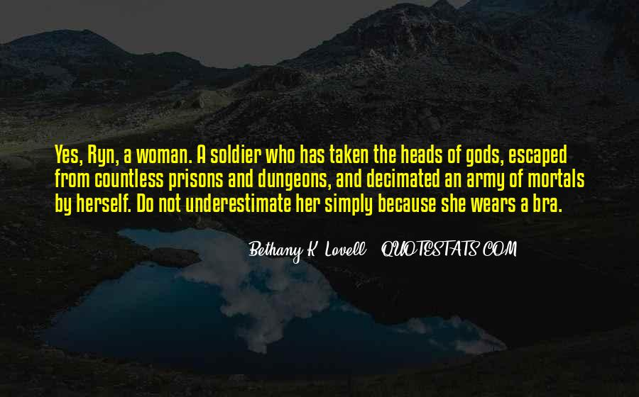 Quotes About Gods Army #91362