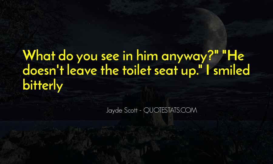 Funny Toilet Seat Quotes #264202