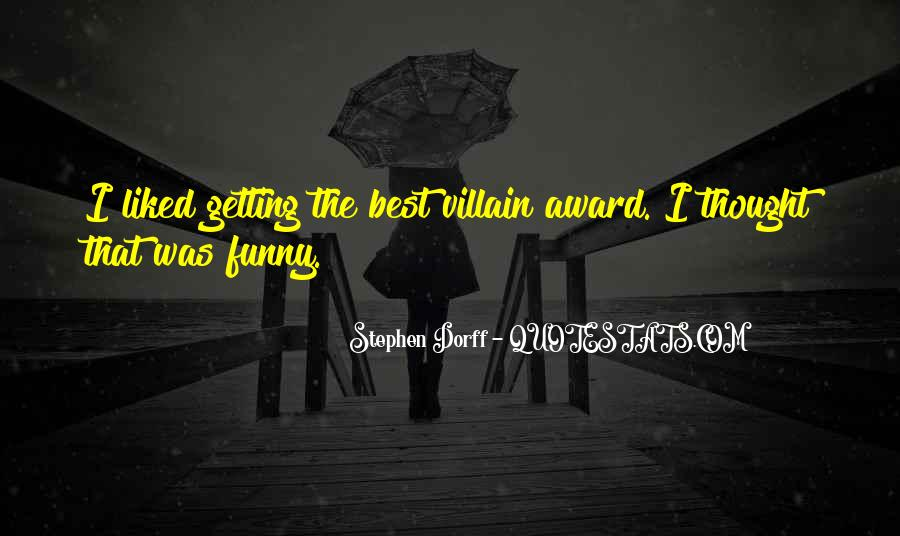 Funny Villain Quotes #1641625