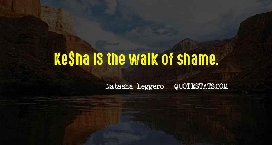 Funny Walk Of Shame Quotes #209548