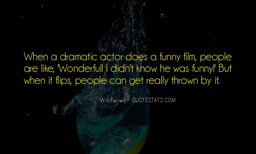 Funny Will Ferrell Quotes #83918