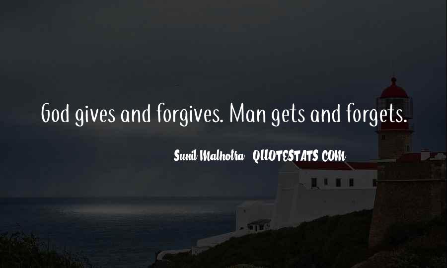 Quotes About God Forgives #1135840