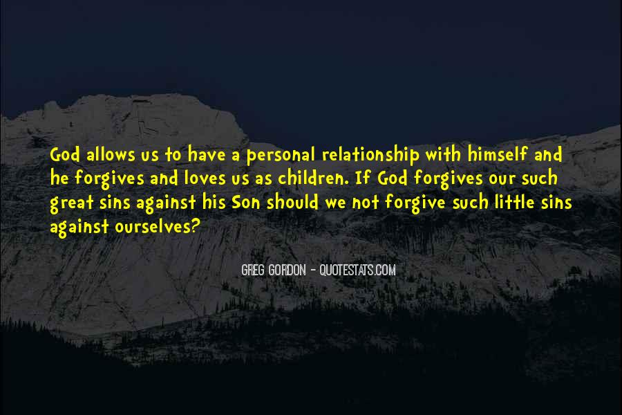 Quotes About God Forgives #1404621