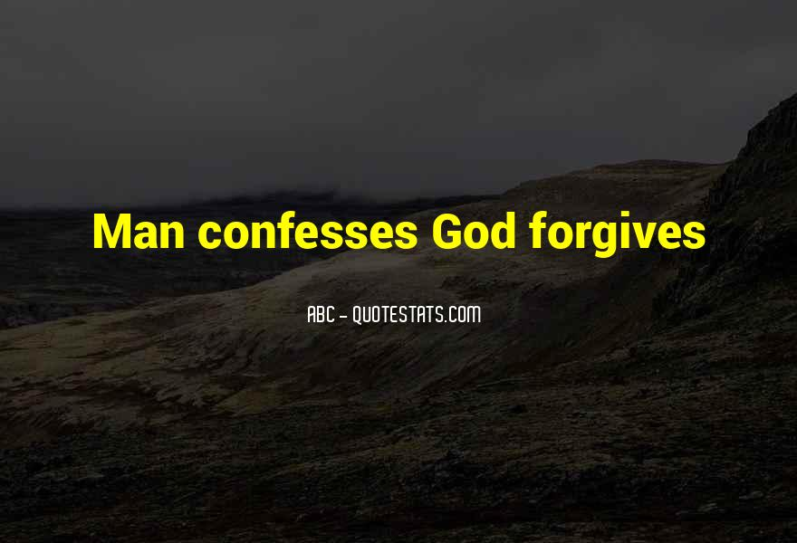 Quotes About God Forgives #1415417