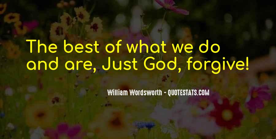 Quotes About God Forgives #1430283