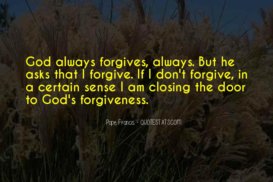 Quotes About God Forgives #1441001