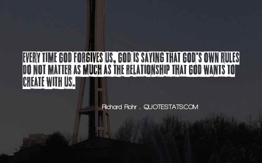 Quotes About God Forgives #647582