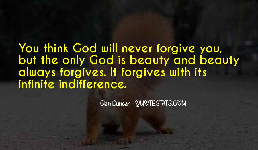 Quotes About God Forgives #745781