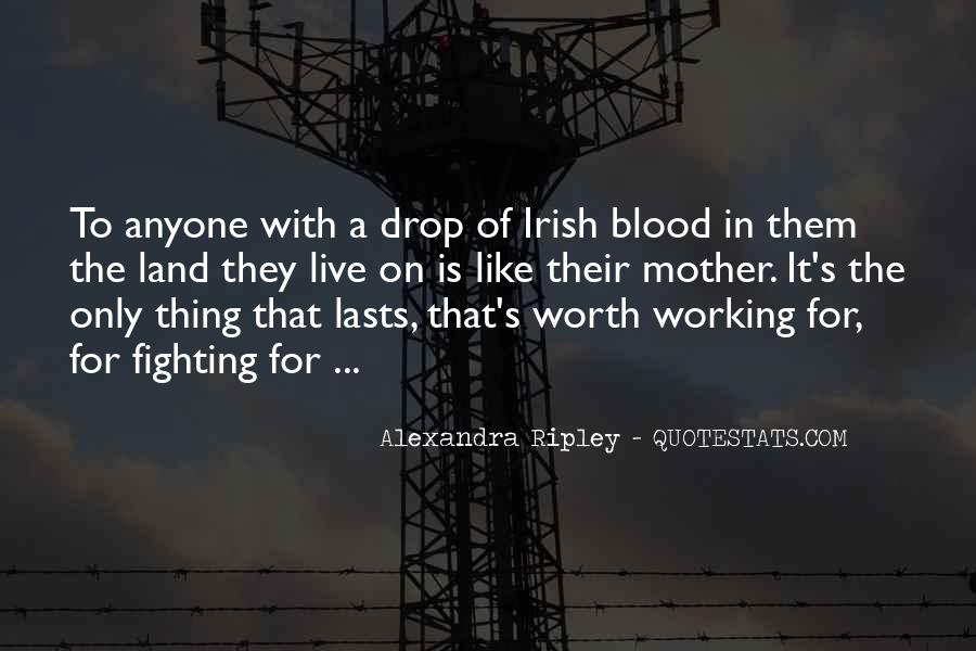 Quotes About The Fighting Irish #1109636