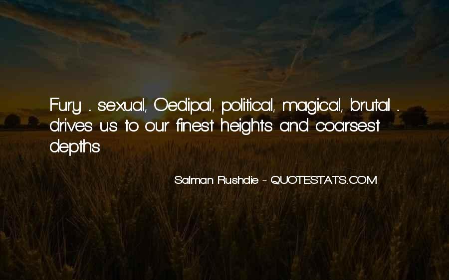 Fury Salman Rushdie Quotes #432421