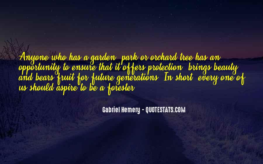 Future Of Forestry Quotes #108614