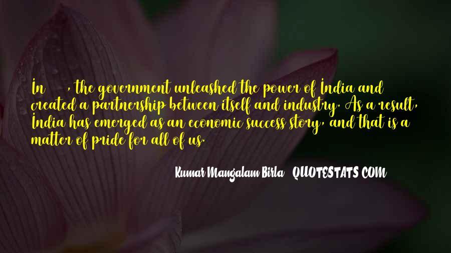 G D Birla Quotes #1604325