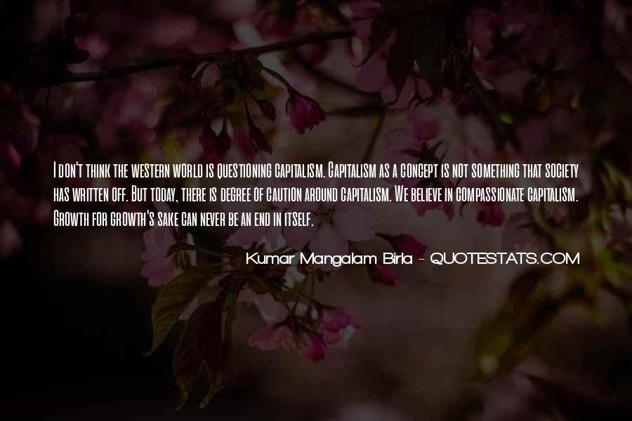 G D Birla Quotes #307336