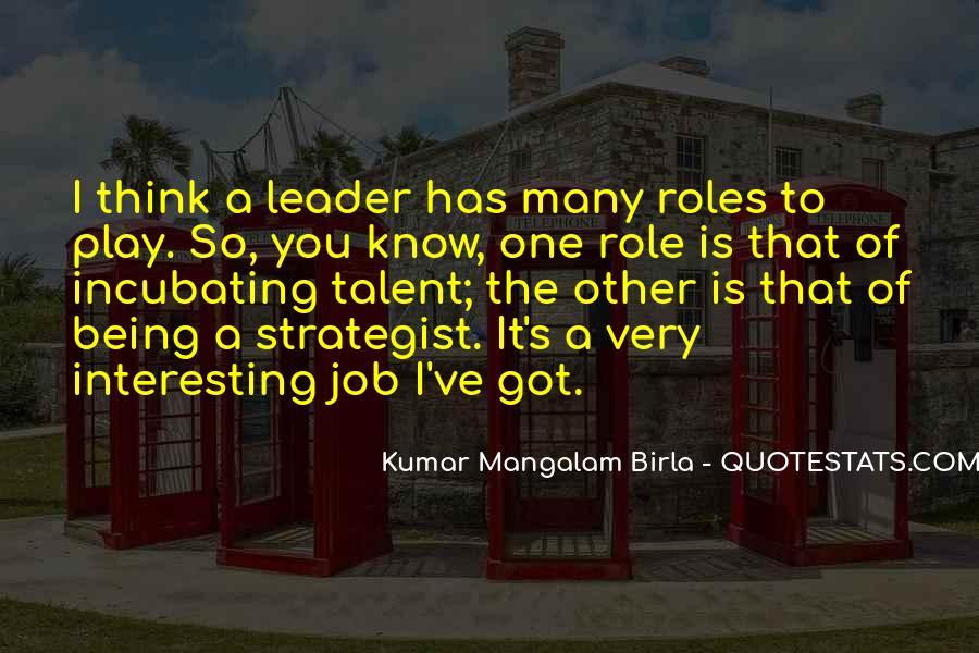 G D Birla Quotes #825861