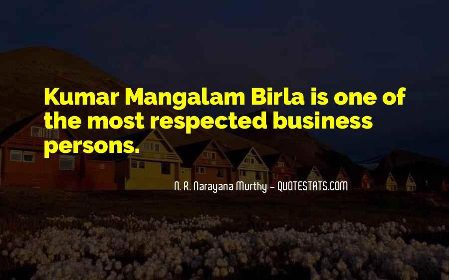 G D Birla Quotes #873779