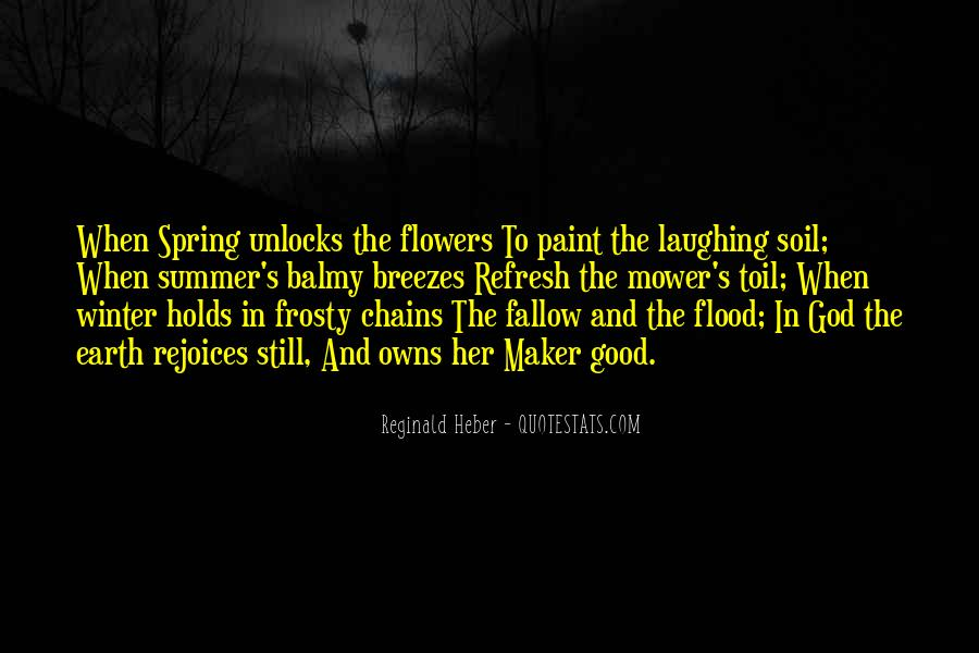 Quotes About God And Flowers #1340153