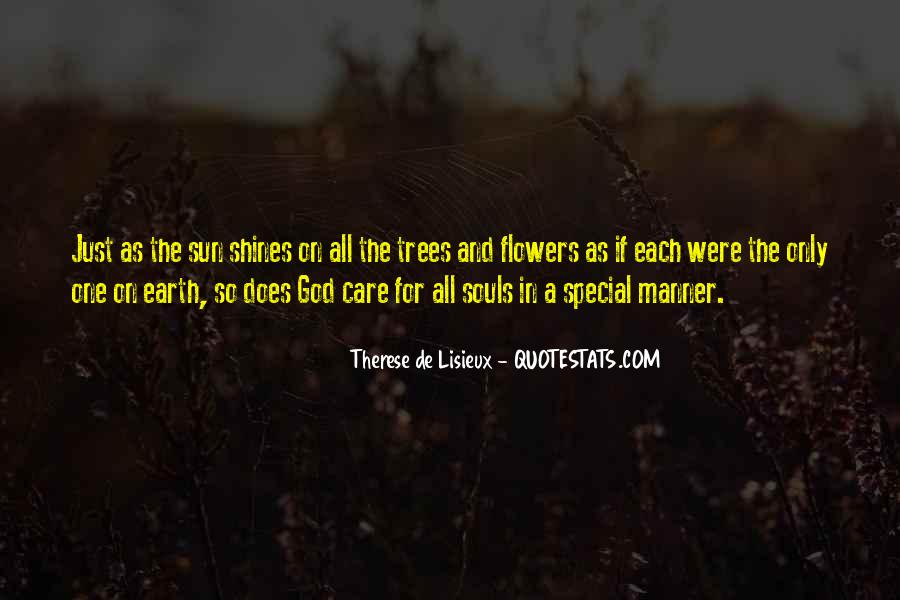 Quotes About God And Flowers #1351777