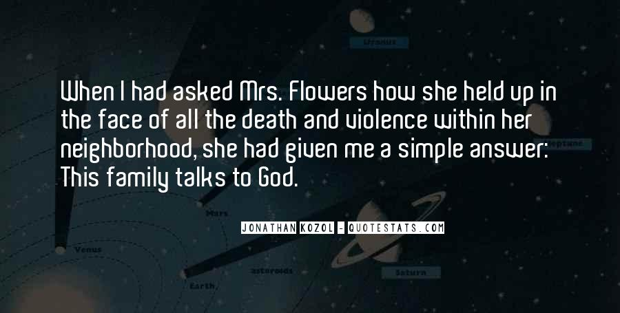 Quotes About God And Flowers #328282