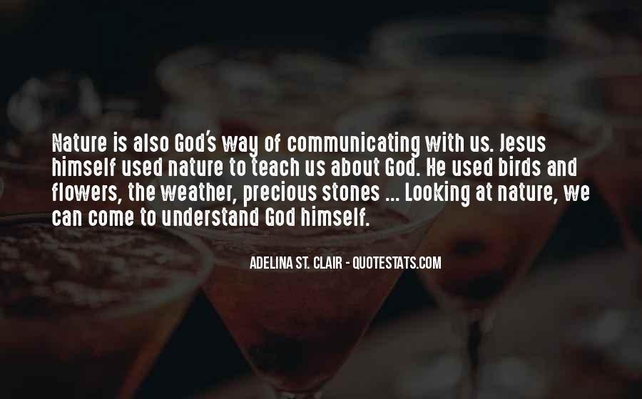 Quotes About God And Flowers #86546