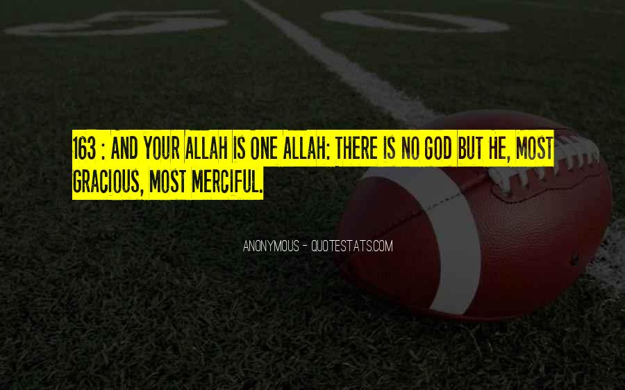 Quotes About God Allah #1097350