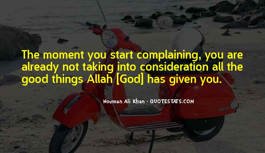 Quotes About God Allah #1164968