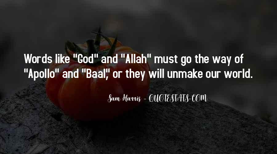 Quotes About God Allah #1171485