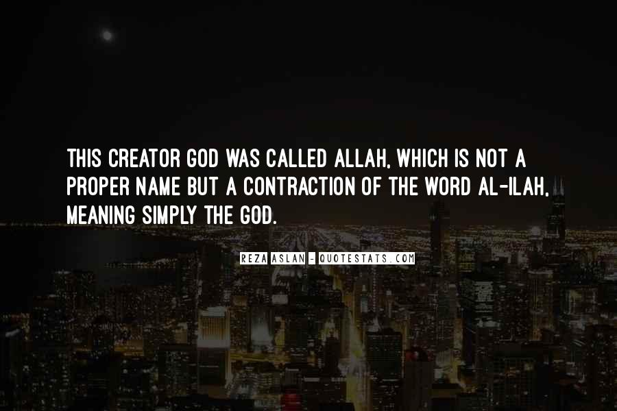 Quotes About God Allah #745459