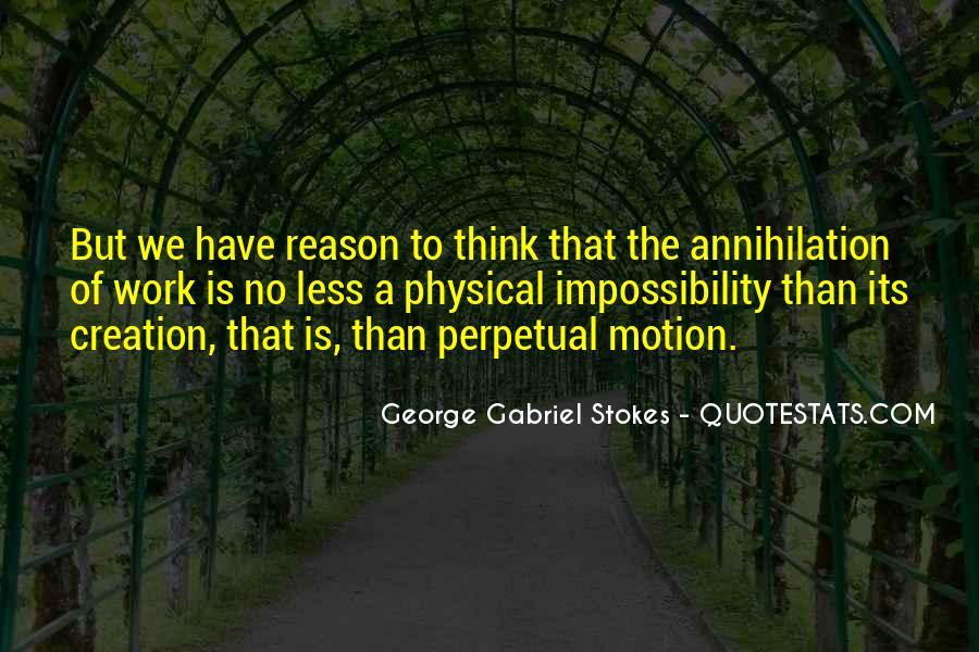 Gabriel Stokes Quotes #1604314