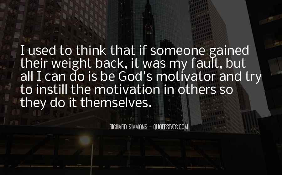 Gained Weight Quotes #1696477