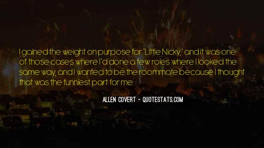 Gained Weight Quotes #186108