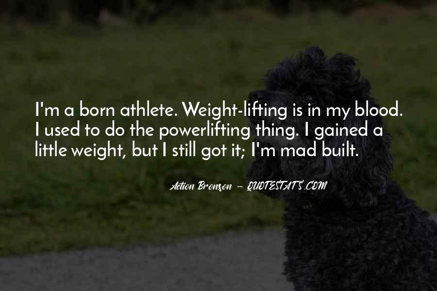 Gained Weight Quotes #741635