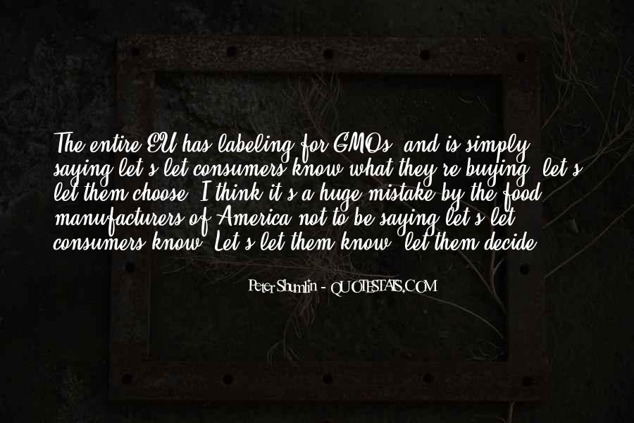Quotes About Gmos In Food #1549422