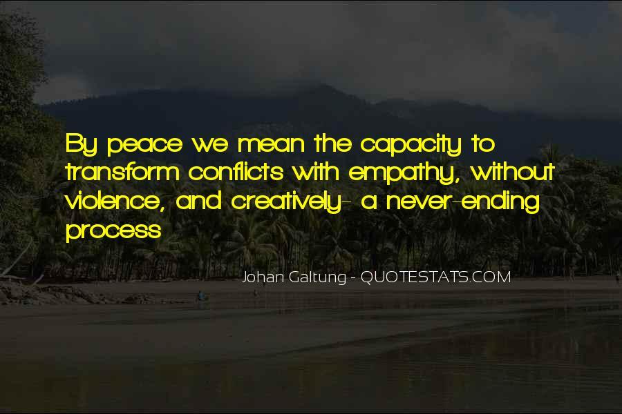 Galtung Quotes #320913