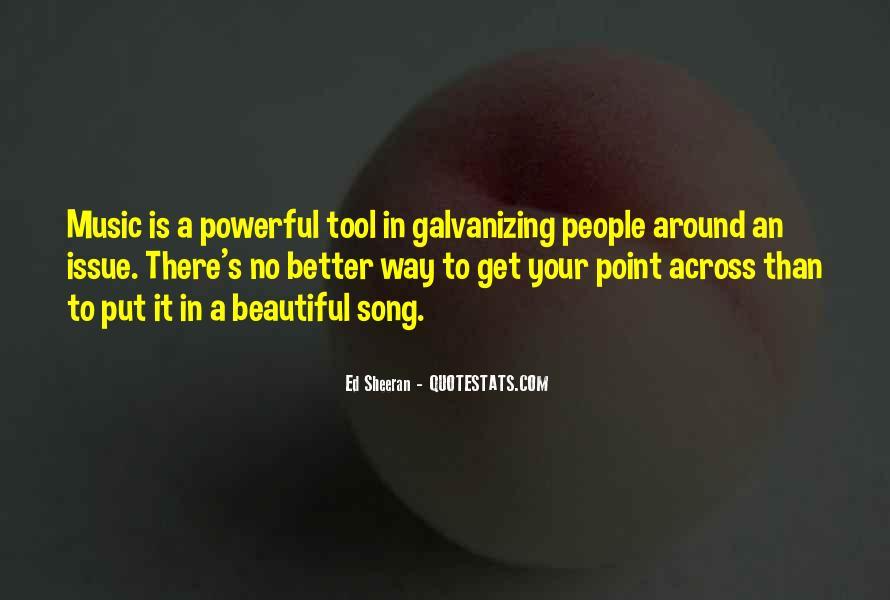 Galvanizing Quotes #697251