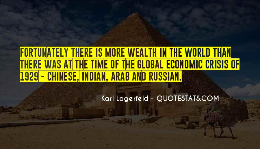 Quotes About Global Economic Crisis #1528763