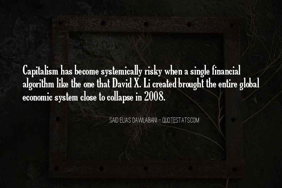 Quotes About Global Economic Crisis #430500