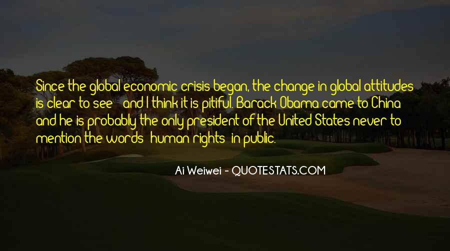 Quotes About Global Economic Crisis #680723