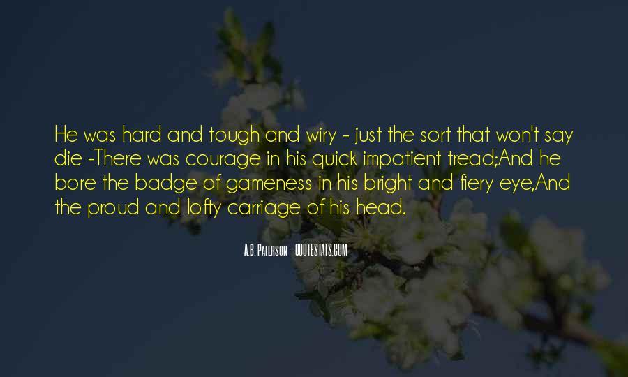Gameness Quotes #781874