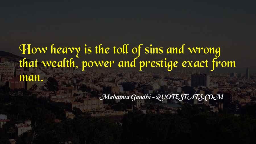 Gandhi Exact Quotes #1140810