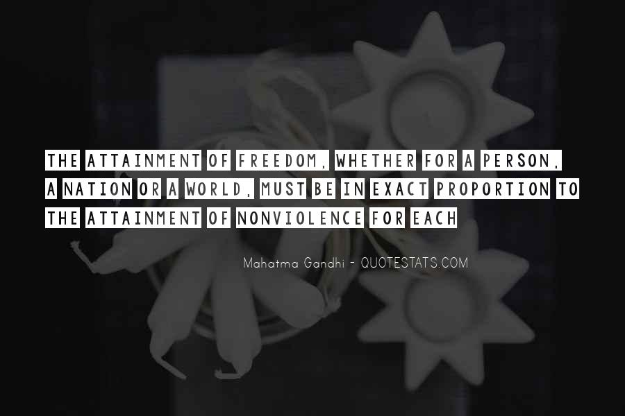Gandhi Exact Quotes #280285