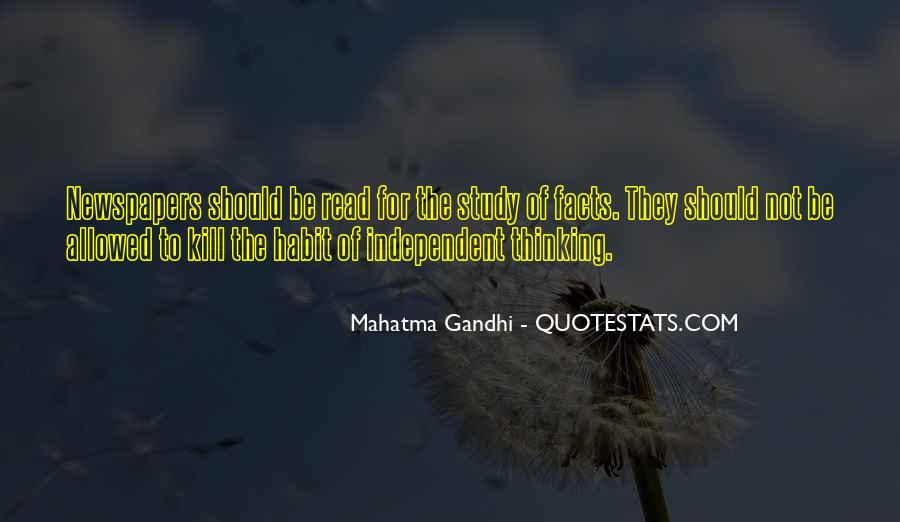 Gandhi Facts And Quotes #1251079