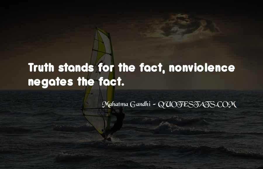 Gandhi Facts And Quotes #1804438