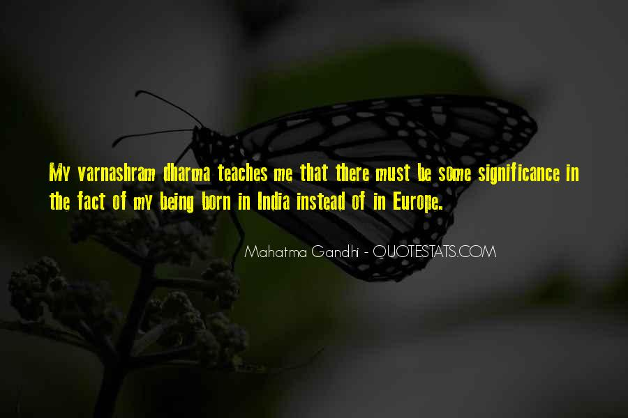 Gandhi Facts And Quotes #183489