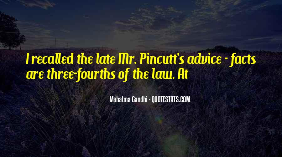 Gandhi Facts And Quotes #292041